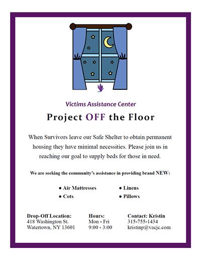 VAC Fundraiser Off The Floor