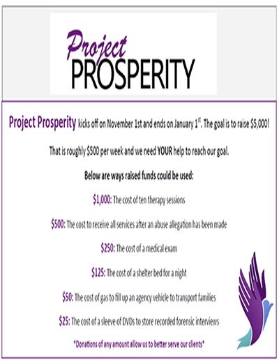 VAC Fundraiser Project Prosperity